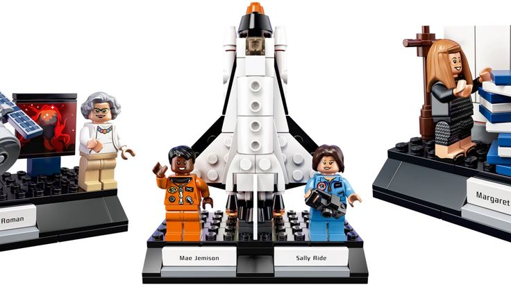 Back in February, Lego revealed it would be turning Maia Weinstock's Women of NASA Lego Ideas submission into an official set, and this morning we have our first look at the production versions of the tiny dioramas and minifigures that will be available starting on November 1 for $25. You may notice one rather major heroine is missing.