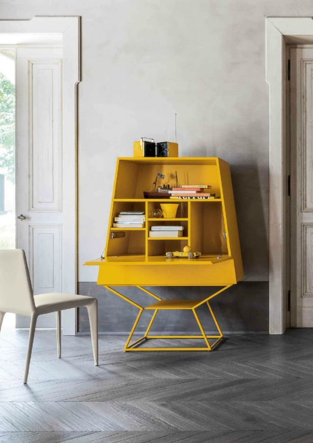 SUMMER Contemporary style lacquered highboard by @bonaldo  #design Gino Carollo