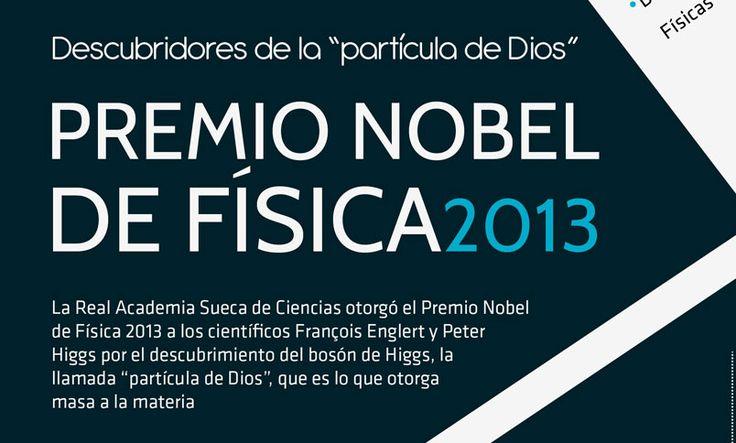 Premio Nobel de Física 2013   http://caracteres.mx/premio-nobel-de-fisica-2013/?Pinterest Caracteres+Mx