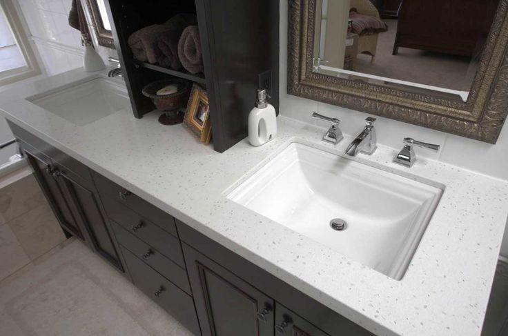 bathroom inspiring countertops ideas various materials double vanity sink black granite dark