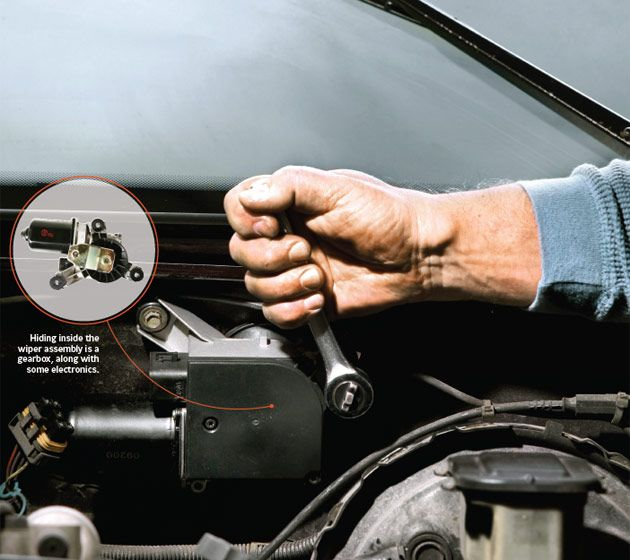 To fix motors and cars on pinterest for Car window motor repair
