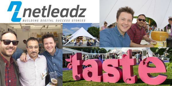 Netleadz at Taste Of London Festival.  On Friday 19th we were lucky enough to enjoy a team outing to the Taste of London festival in Regent's Park, courtesy of one of our lovely clients - Eatapas.co.uk (Eatapas are an artisan supplier of authentic Spanish produce).  Luckily we had chosen a good day for it, as in the words of Bob Marley, 'the sun was shining and the weather was sweet'.