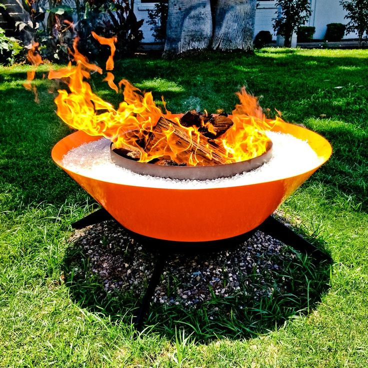 Exceptional Steel Fire Pit For Awesome Outdoor Adventures Involving Fire And Fun. Nice Look