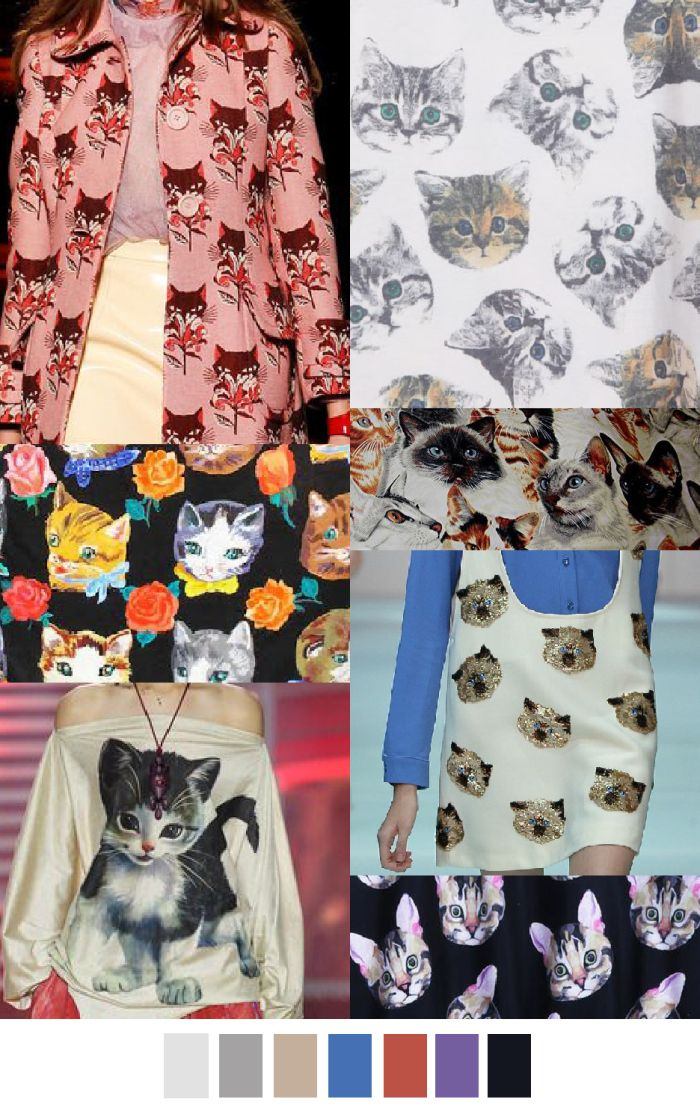 A/W 2016-17 COLORS + PATTERN TREND: Cat Power