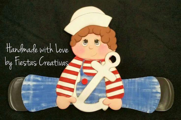 Niño marinero para decorar Sala de Clases