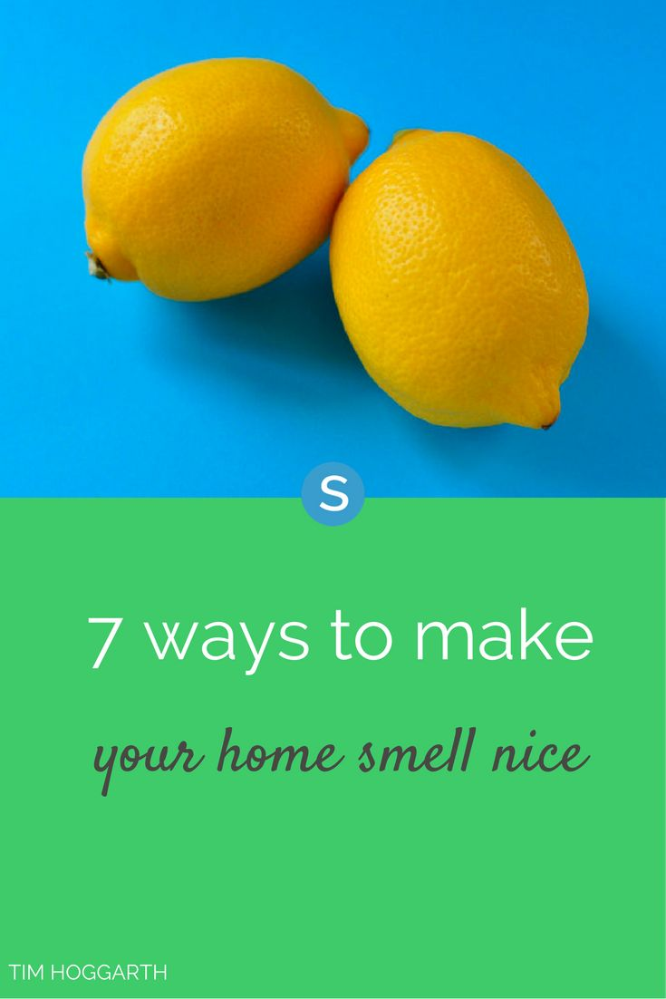 Nothing smells as good as a freshly cleaned house, but if you're in a time crunch or are having guests and want your home to smell extra nice, you'll want to find some other ways to get some fresh scents floating around.