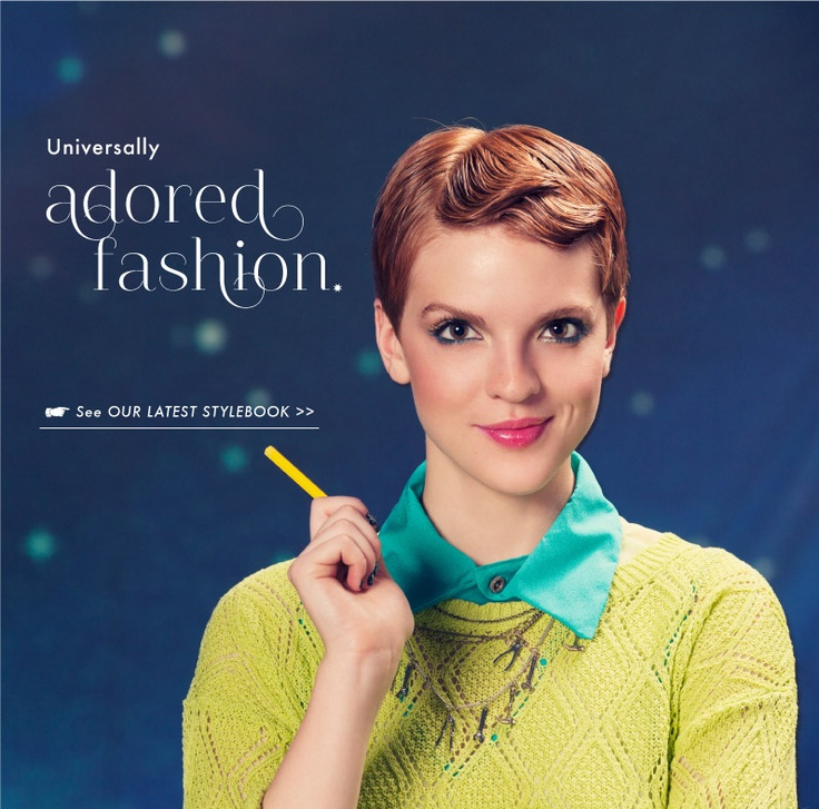 Latest Stylebook From Mod Cloth - A Very Flamboyant Gamine Look