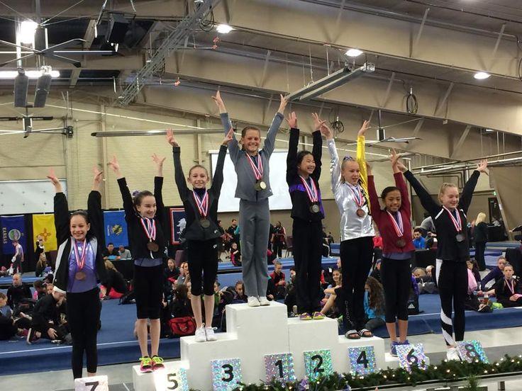 level 7 region 8 gymnastics meet 2015
