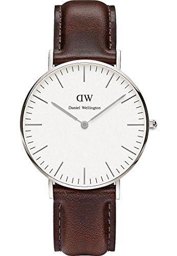 Daniel Wellington Damen-Armbanduhr St Andrews Analog Quarz Leder 0607DW - http://uhr.haus/daniel-wellington/daniel-wellington-damen-armbanduhr-st-andrews