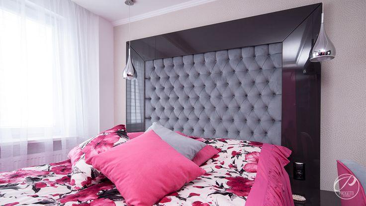 Apartament w Łomiankach  Bedroom.  Progetti Architektura