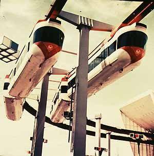 New York World's Fair 1964 monorails