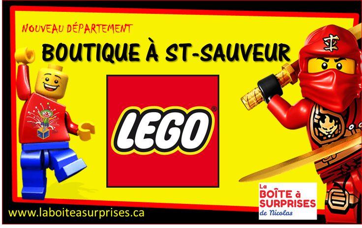 Briques Lego à saint sauveur à La Boîte à Surprises de Nicolas, dans les Laurentides, Bloc LEGO Boutique St-Sauveur #lego #stsauveur #laurentides #toys www.laboiteasurprises.ca