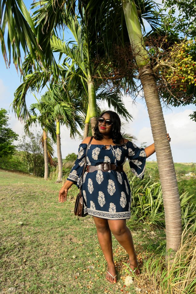 Shapely Chic Sheri - Curvy Fashion and Style Blog: Bajan Beauty