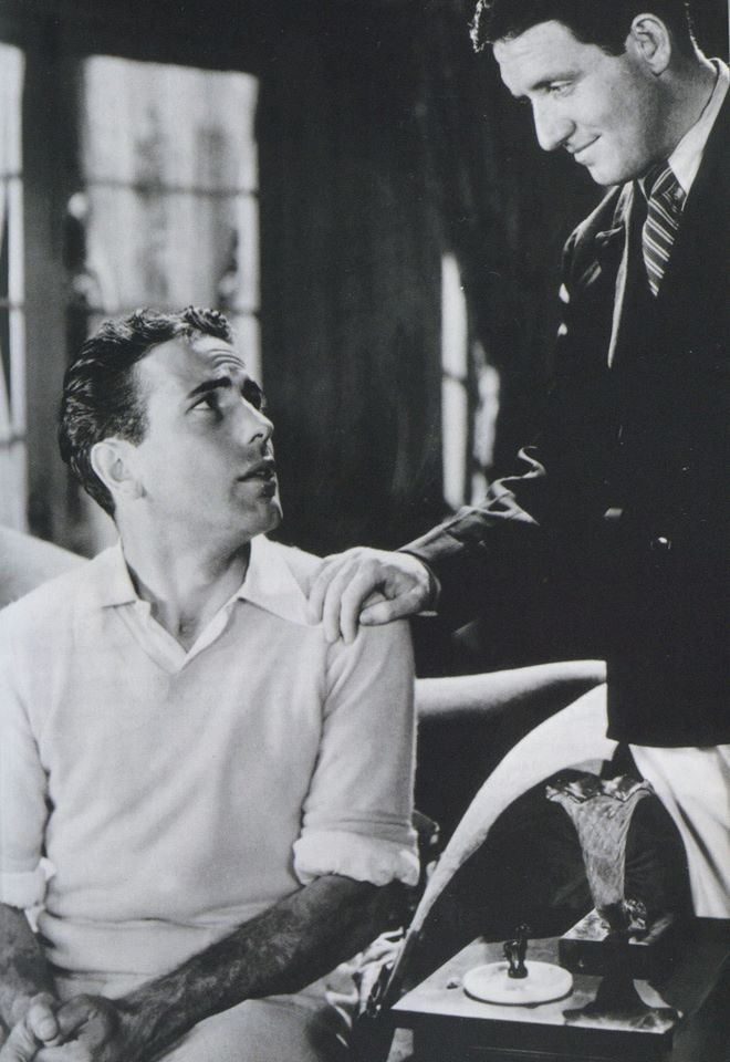 Humphrey Bogart and his friend, Spencer Tracy.