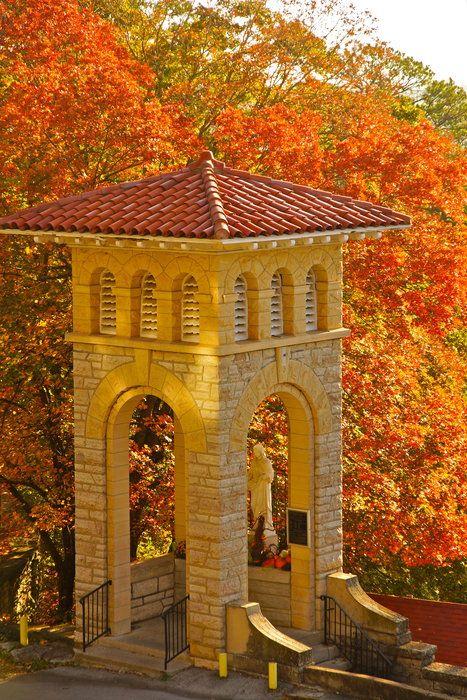 Photo by Robert Klein on Capture Arkansas // Bell Tower to St Elizabeth Church
