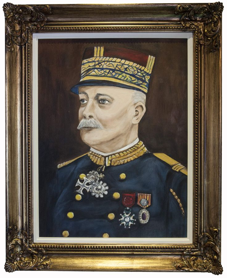 General Charles Lanrezac, after whom Mrs English named the farm