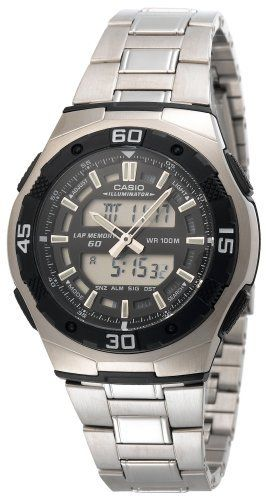 Casio Men's AQ164WD-1AV Ana-Digi Sport Watch Casio. $39.11. Save 35%!