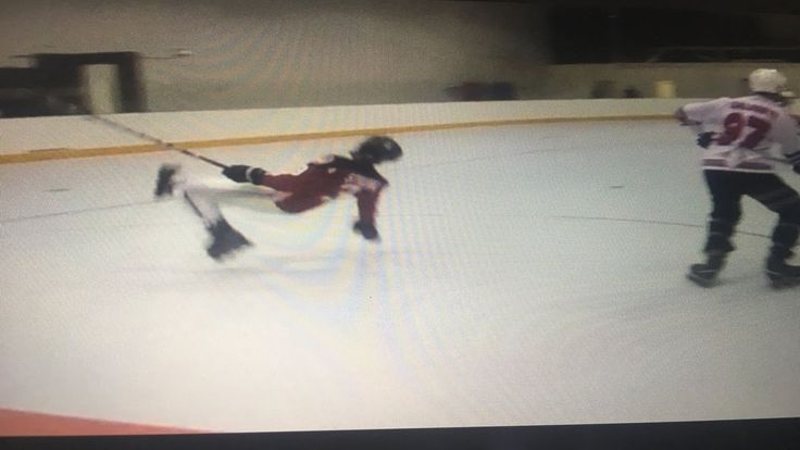 My friend made a roller hockey highlight video this is definitely the funniest moment in the video