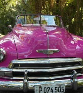 Cuban classic car www.anaussieinitaly.com