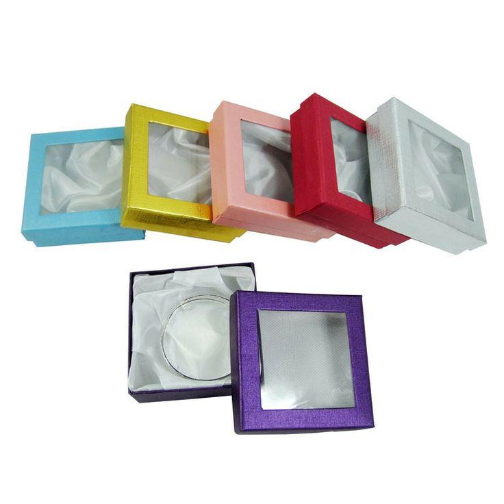 multi colore monili braccialetto imballaggio scatole di carta pakage regalo per gioielli collane e ciondoli spedizione gratuita scatole