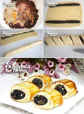 Pastane Usulü Dilimli Ay Çöreği (Pastiç) Tarifi