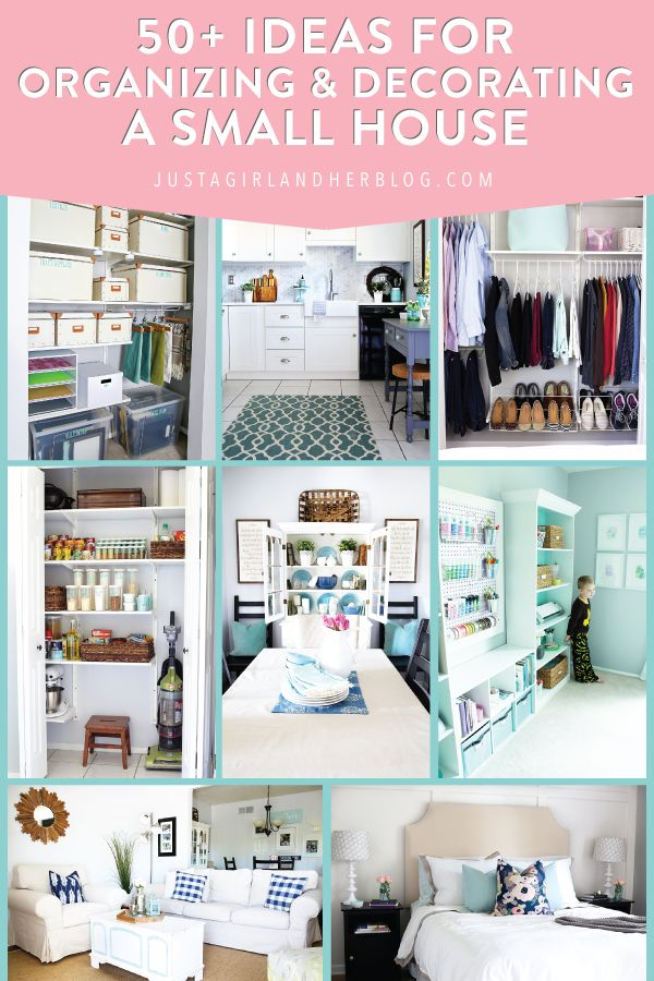 50 Ideas For Organizing And Decorating A Small House Townhouse