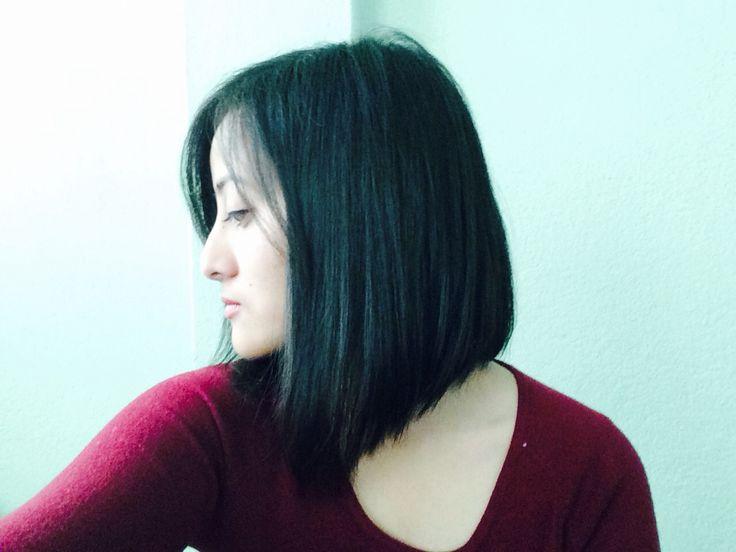 Finally the hair that I've been wanting ! #hair #goals #short #black #rihanna