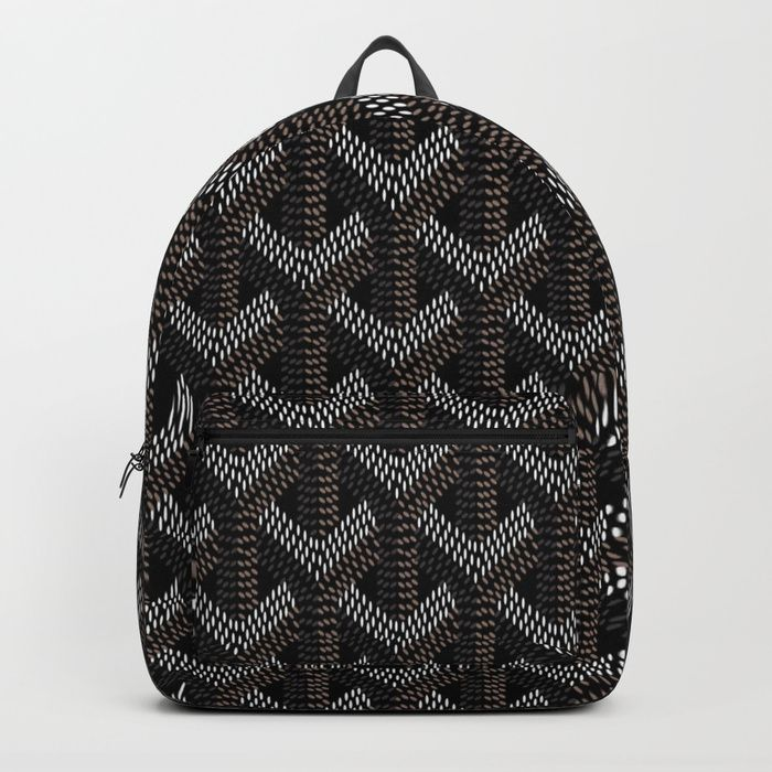 Buy Goyard Black Backpack by technobile. Worldwide shipping available at Society6.com. Just one of millions of high quality products available.