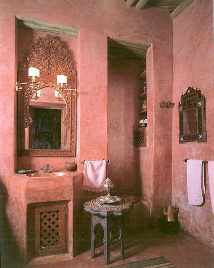 602 best little pink houses 4 u me images on pinterest for Marrakech bathroom design