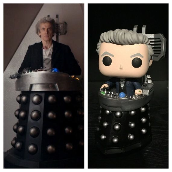 Custom Funko Pop Quot Doctor Who Quot Twelfth 12th Doctor In
