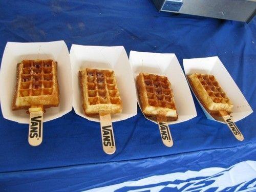 waffle pop