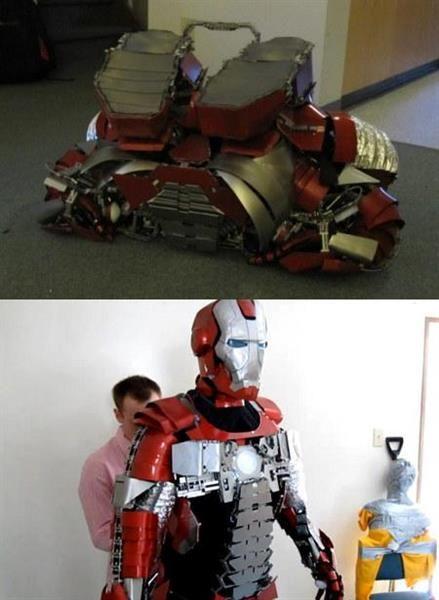 Как сделать оригинальный костюм железного человека