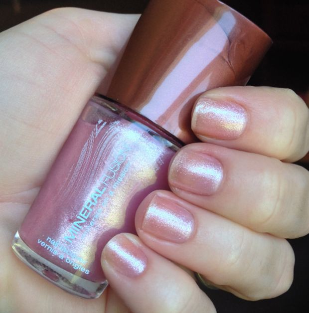 Pink Crush by Mineral Fusion. Get Cruelty-Free, Natural Nails Thanks to Mineral Fusion. #crueltyfree #beauty #nails
