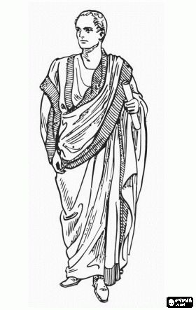 Ancient Rome coloring pages