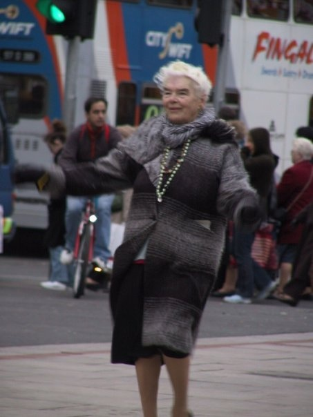 The Lady that used to dance on O Connell Street...