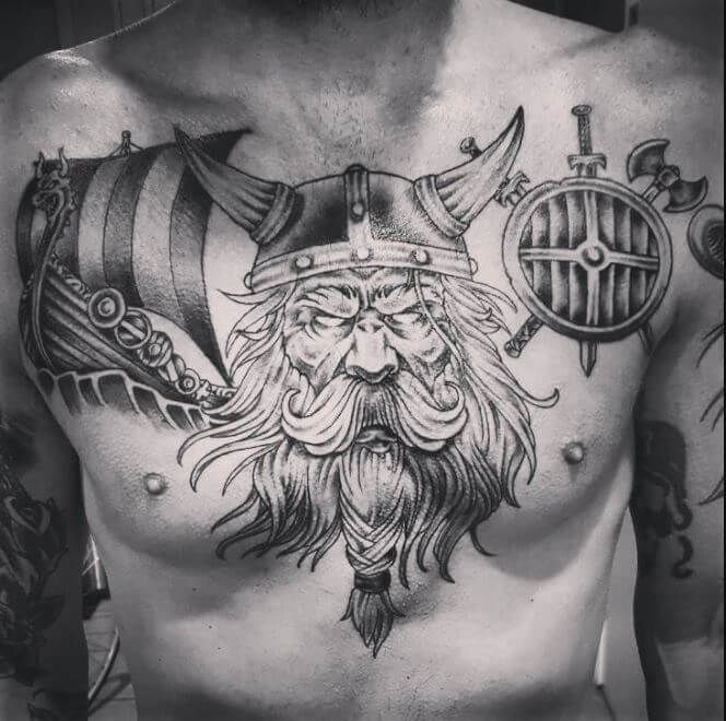 Viking Tattoos Tattoo Gallery For Men Chest Tattoo Men Tattoos For Guys