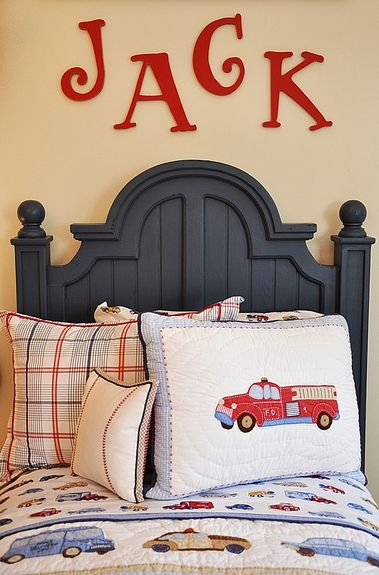 Cute Idea for Little Boy's Room