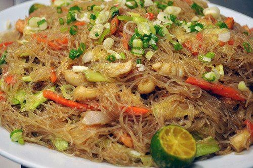 how to cook pancit bihon step by step