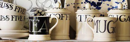 Emma Bridgewater Pottery Black Toast & Marmalade Collection