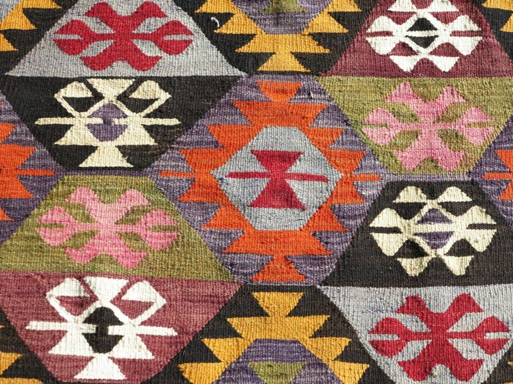 Anatolian Turkish Antalya Nomads Kilim