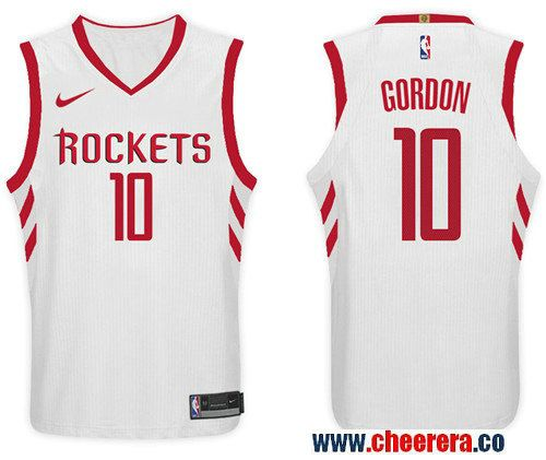 Nike NBA Houston Rockets  10 Eric Gordon Jersey 2017-18 New Season White  Jers 265748913