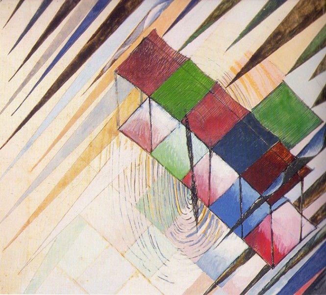 Vittorio Corona's dynamic paintings. www.italianways.com/vittorio-coronas-dynamic-paintings/  #italianways #painting