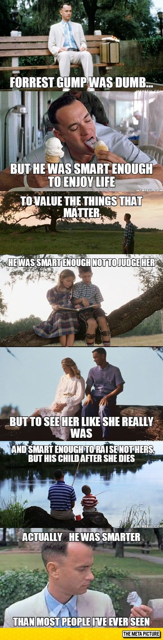 Forrest Gump Wasn't Just The Story Of A Dumb Guy