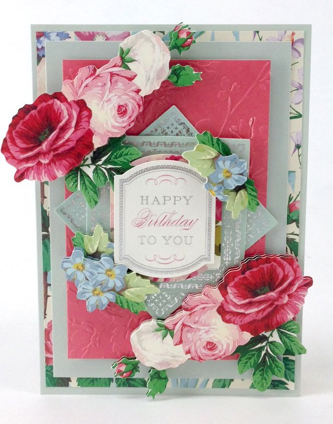 © Anna Griffin, Inc. 20th Anniversary 3D Sticker Set. This endless garden of floral stickers and sweet sentiments from Anna's all time favorite collections will be the perfect addition to any card or scrapbook page. Available on HSN.com for $39.95.