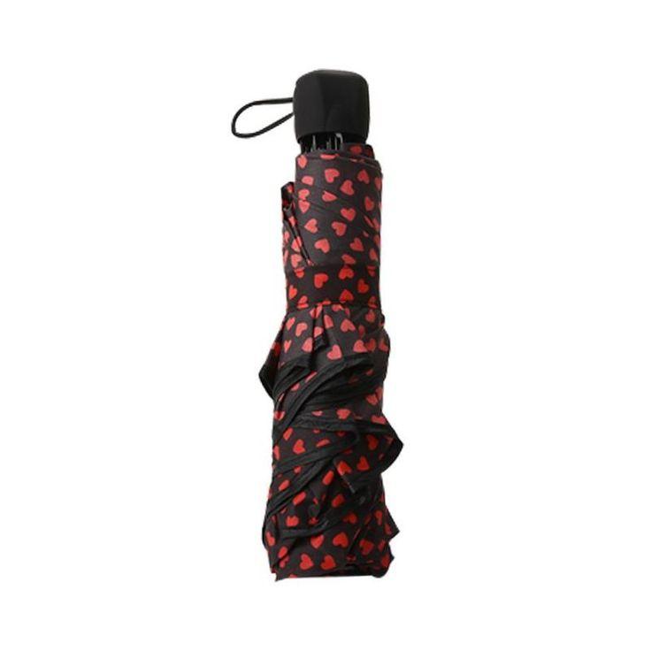 1pc Rain Umbrella Ladies and men Quality Windproof Three Folding Umbrellas Fashion Business #25 #Affiliate
