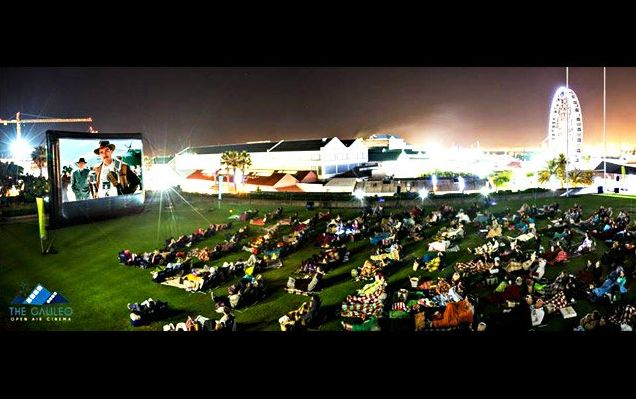 The Galileo Open Air Cinema.  Get your weekly dose of classics, dramas, action movies and more at these outdoor summertime screenings.  http://www.capetownmagazine.com/events/the-galileo-open-air-cinema-at-the-v-and-a-waterfront/11_37_55422