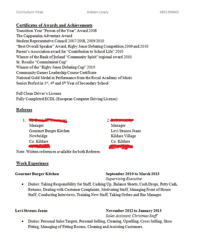 The 25+ best Resume objective examples ideas on Pinterest Good - resume objective for it