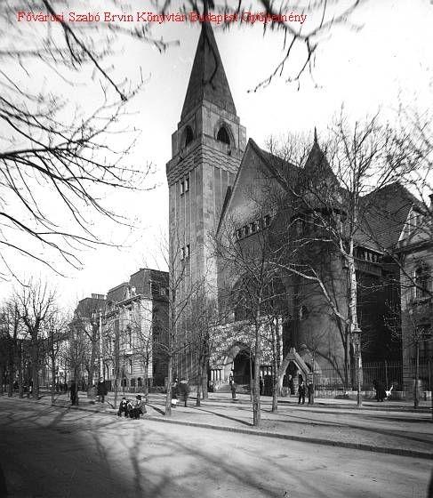 Budapest City.org   Fasori református templom