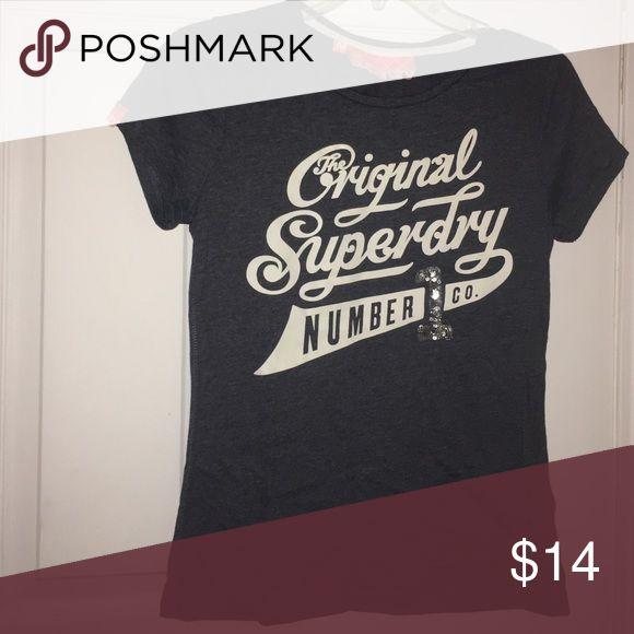 Original superdry t shirt Original, superdry, light navy blue Superdry Tops Tees - Short Sleeve