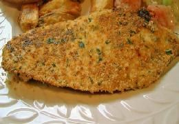 I just made Baked Parmesan Tilapia from food.com on supercook.com!